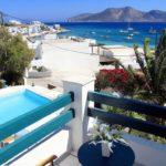 Keros Hotel Balcony View Koufonisia